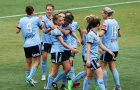 Sydney FC W-League action in the Sutherland Shire