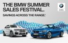 BMW Summer Sales Festival