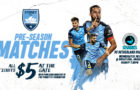 Sydney FC vs Sutherland Sharks – Wed 25 July at Kogarah Jubilee