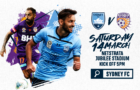 Round 23 – Sydney FC v Perth Glory Saturday Saturday 14th March 5pm at Jubilee Stadium