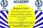 SSFA – Boys & Girls Advanced Holiday Academy – Monday 28th June – Wednesday 30th June