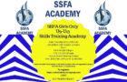 SSFA Girls 5 Week July/August U9-U13 Skills Training Academy – CANCELLED