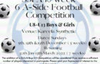 SSFA 6 A-Side Football 2021/22 -Commencing December 5th